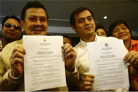 Erap Blinked. Lifts Truck Ban in Manila