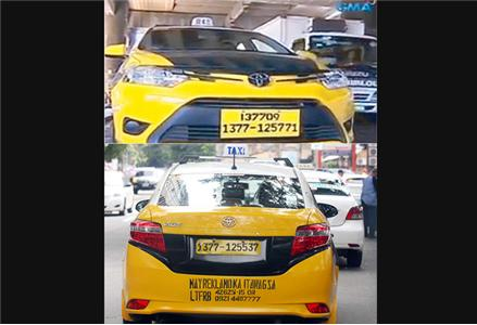 Temporary16-digit taxi plates irk netizens, consumer welfare group