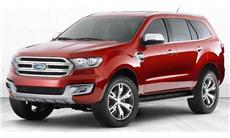 2017 Ford Everest  3.2L titanium 4x4 AT (premium) w/ Navigation