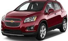 2016 Chevrolet Trax Lt 1.4L FWD Turbo Gas 6-Speed A/T