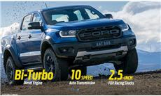 2019 Ford Ranger RAPTOR 2.0L BI-TURBO 4x4 A/T