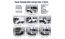 2020 Foton TORNADO M5.2C (17FT) EURO4-6WHEELER CAB AND CHASSIS